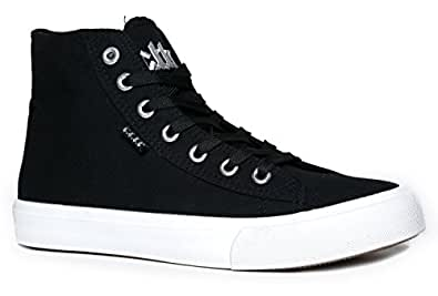 Klutch Sneakers, Black Canvas, 5 B(M) US