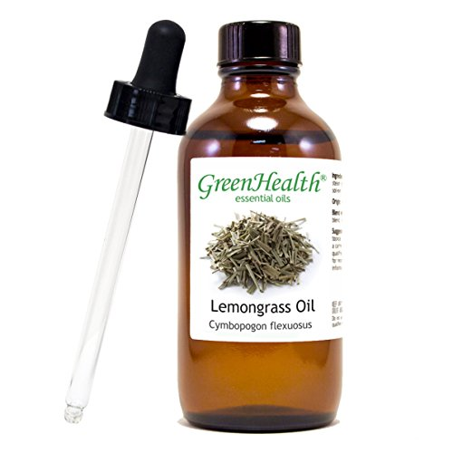 Lemongrass Bottle Dropper Essential GreenHealth product image