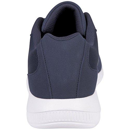 Kappa Unisex Adults' Apollo Trainers Blue (Navy/White 6710) 3m0eXPcN2U