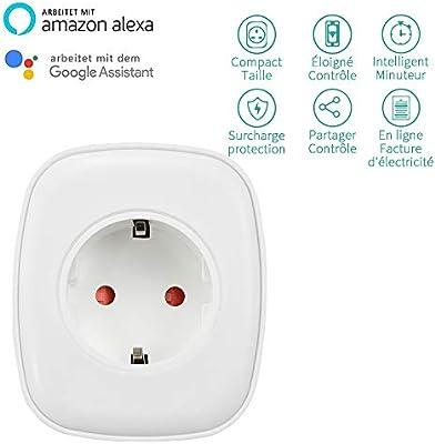 Ewelink Smart Home - Enchufe inteligente con wifi, control por voz ...