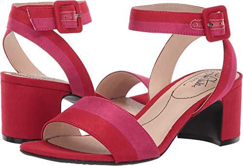 LifeStride Women's Carnival Red/Pink Ecomicrosuede 7 W US