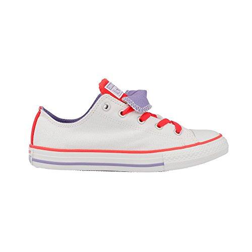 Converse - Couble Toung - 642904F - Farbe: Orangefarbig-Weiß - Größe: 31.5