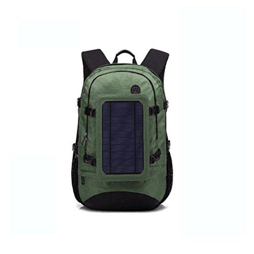 Sac à dos de remplissage solaire extérieur / sac à dos multifonctionnel d'affaires de voyage / téléphone USB rechargeant le sac à dos
