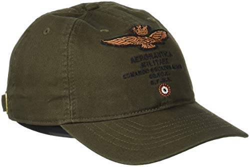 Aeronautica Militare Cappellino, Gorra de Béisbol para Hombre Verde (Verde Bosco 39239)