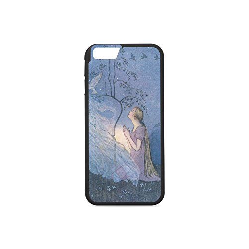 iPhone 7 Phone Case Brothers Grimm illustration Phone Case Pattern Print Hard Phone Shell iPhone 7 Protection Case