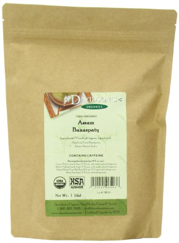 Thé de produits en vrac Davidson, Organic Assam Banaspaty Immobilier thé 1 Pound Bag