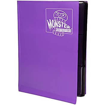 Amazon.com: Monster Binder - 9 Pocket Trading Card Album ...