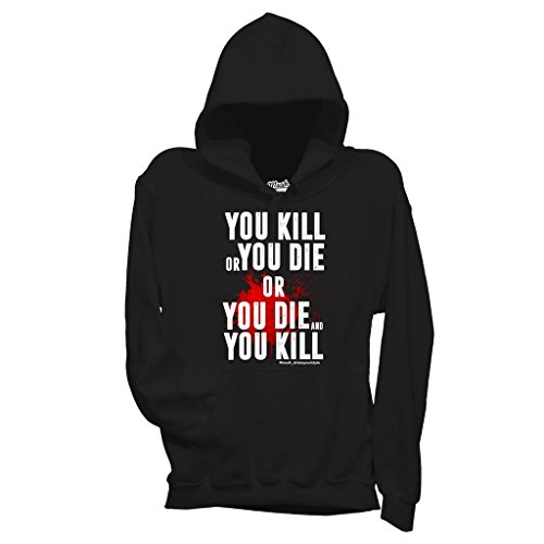 Sweatshirt Kill Or Die Blood - The Walking Dead - FILM by Mush Dress Your Style