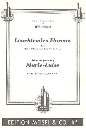 Brillante Firenze E Marie Luise: Singolo