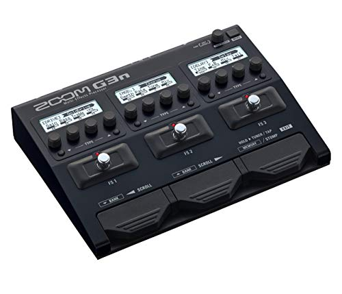 Zoom G3n MultiEffects Processor for Guitar (Certified Refurbished)