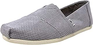 TOMS Men's Seasonal Classics Drizzle Grey Perforated Synthetic Suede 10.5 D US (B0721LKKN5) | Amazon price tracker / tracking, Amazon price history charts, Amazon price watches, Amazon price drop alerts