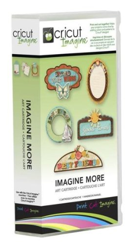 - Cricut Imagine Art Cartridge, Imagine More