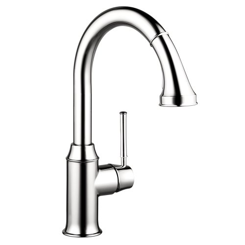 HG Talis C Higharc Single Hole Kitchen Faucet W/Pull Down 2 Spray (Spray Faucet Hansgrohe)