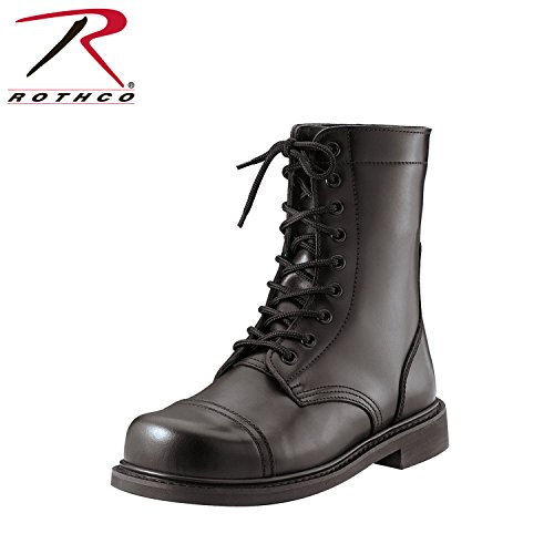 Rothco 9'' GI Type Combat Boot, Black, 6 9' Leather Combat Boot