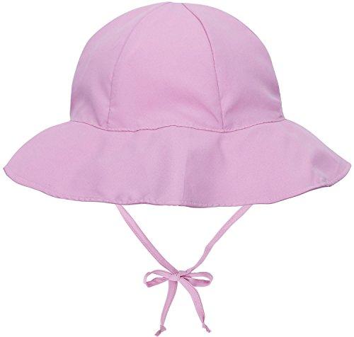 Livingston Girls' UPF 50+ UV Sun Ray Protection Cap Bucket Hats,Pink,12-24Months
