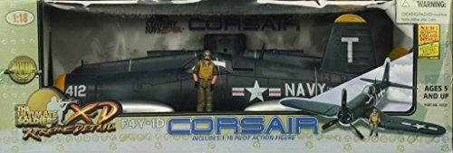 21st Century Toys Aircraft (21st Century Toys 1:18 WWII F4Y-1D Corsair #412 w/ Pilot Model #10127)