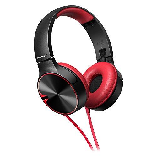 Pioneer Headphone SE-MJ722TR with Microphone (Black Red) - Pioneer Outdoor Equipment