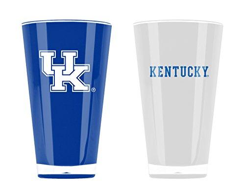 Cat Tumbler Set - Duck House NCAA Kentucky Wildcats 20oz Insulated Acrylic Tumbler Set of 2