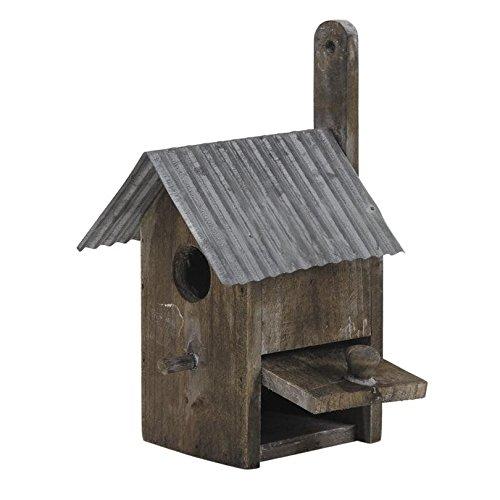 Nichoir à oiseaux en bois et Zinc Aubry Gaspard