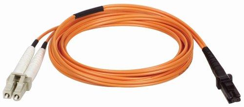 Duplex Multimode Pvc 1 Meter - Tripp Lite Duplex Multimode 62.5/125 Fiber Patch Cable (MTRJ/LC), 1M (3-ft.)(N314-01M)