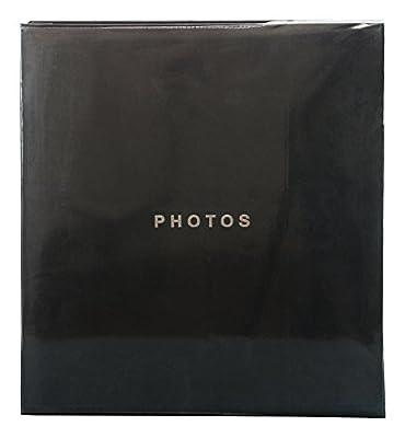kieragrace KG Jocelyn Photo Album, Holds 400 4 by 6-Inch Photos, Pack of 6, Black