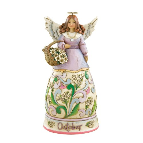 Heartwood Monthly Figurine October 4 Inch
