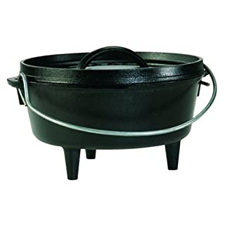 Lodge Camp Dutch Oven, 2 Qt