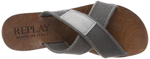 grey Hombre Replay Chanclas Gris Mans Para Xx1xZ0pqn