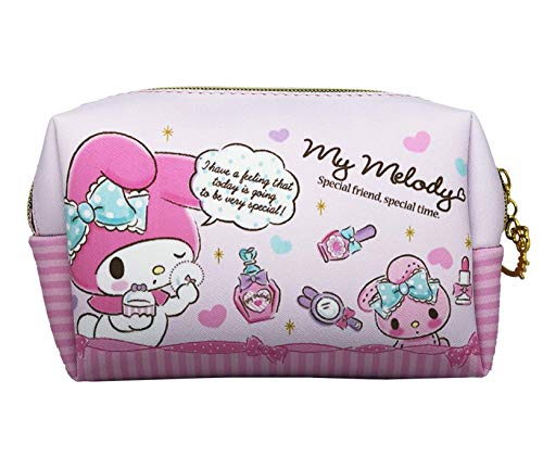 Hello Kitty Makeup Bag, Perfect Cosmetic Bag for Travel, Brushes, and Accessories - Bag Kitty Cosmetics Hello