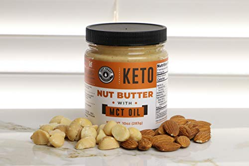 Keto Nut Butter Fat Bomb [Crunchy] - 10 Oz - Macadamia Low Carb Nut Butter Blend (1 net carb), Keto Almond Butter with MCT Oil, Left Coast Performance 7