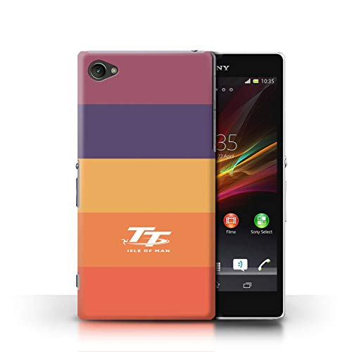 Official Isle of Man TT Phone Case/Cover for Sony Xperia Z1 Compact/Lollipop Design/Elegance Collection