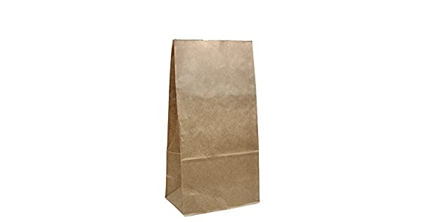 Amazon.com: lollicup fp-sos04 K Karat Bolsa de papel, kraft ...