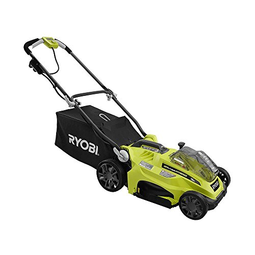 16'' ONE+ 18-Volt Lithium-Ion Hybrid Cordless or Corded Lawn Mower (Battery and Charger Not Included) by Ryobi