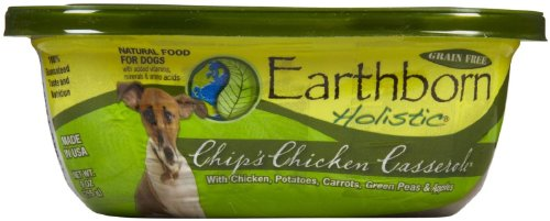 EARTHBORN HOLISTIC Chips Chicken Casserole Can Pet Food, 9-Ounce, set of 8, My Pet Supplies