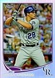 #5: 2013 Topps Chrome Refractor #78 Nolan Arenado Baseball Rookie Card