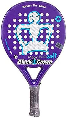 Pala Black Crown Piton 5.0 Soft: Amazon.es: Deportes y aire ...