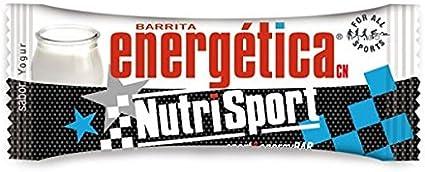 Nutrisport Barrita Energética 12 x 44g Yogurt: Amazon.es ...