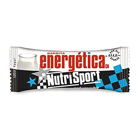Nutrisport Barrita Energética 12 x 44g Yogurt: Amazon.es: Salud y cuidado personal