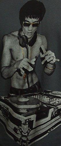 Bruce Lee Dj Mens Tshirts, Heavy Metal ,Bow N Arrow