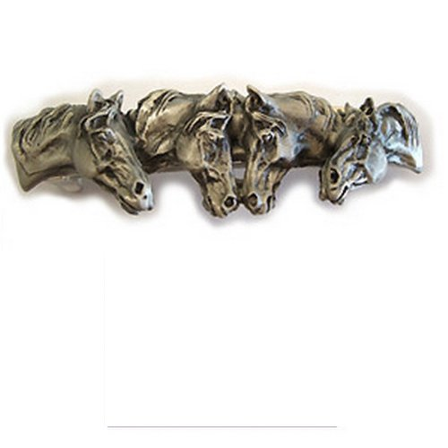 - Authentic design straight from the artist studio. HORSE barrette hair clip. It is a wearable piece of art!