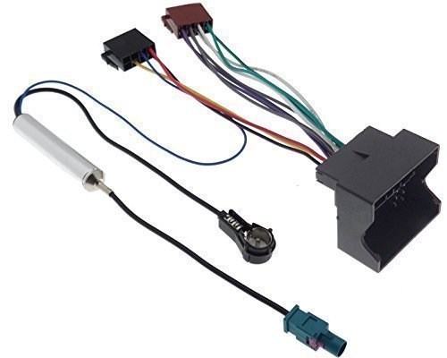 Radioadapter Quadlock ISO CITROEN PEUGEOT Radio Stecker Fakra ...
