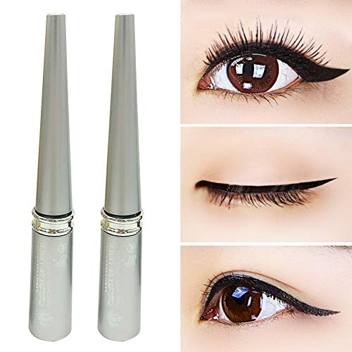 wewa98698 Sexy Black Eyeliner Liquid Eye Liner Party Eye Makeup Long Lasting Cosmetic Gift -