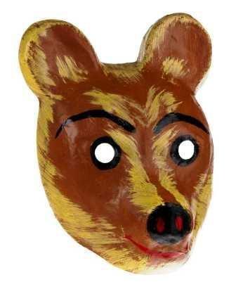 Orso marrone orso ORSETTO BEAR Maschera Teatro maschere di animali