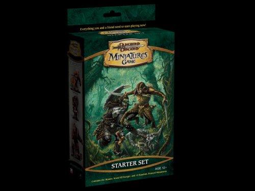 (Dungeons & Dragons Miniatures Game Starter Set (War Drums))