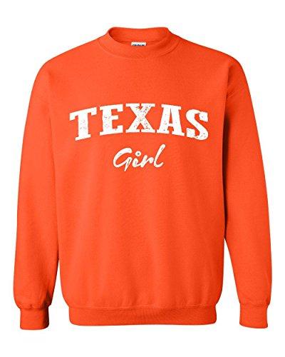 Mom's Favorite Texas Girl Texan American States TX Unisex Crewneck Sweater -