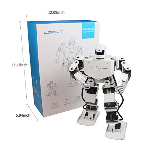 LewanSoul H3S 16DOF Biped Humanoid Robot Kit with Free APP, MP3 Module, Detailed Video Tutorial Support Sing Dance(Assembled) by LewanSoul (Image #3)