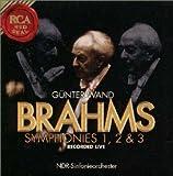 ブラームス:交響曲第1番&第2番&第3番