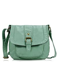 Scarleton Soft Washed Front Pocket Crossbody Bag H1692