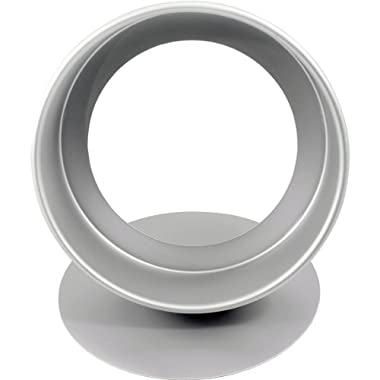 Fat Daddio's Anodized Aluminum Round Cheesecake Pan, 8 Inches by 3 Inches