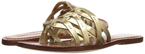 Bernardo Womens Magnolia Huarache Sandaal Oud Gouden Kalf